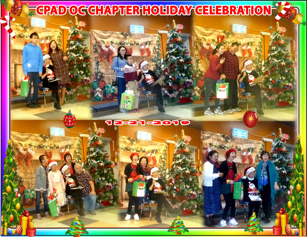 2020 OC Chapter Holiday Celebration